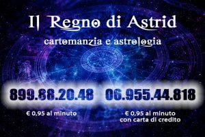 Astrid è la tua astrologa e cartomante di fiducia, con lunga esperienza e pazienza. Sito: cartomanziaastrid.com