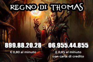 Cartomante Thomas: consulti al telefono. Sito web: cartomantethomas.it