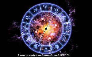 Cosa accadrà nel 2017? Lo zodiaco per simboleggiare la forza dei pianeti e come i loro movimenti influenzeranno gli eventi dell'anno.