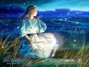 Vergine, disegno art. Oroscopo della Vergine per il 2017 dell'astrologa cartomante Astrid.