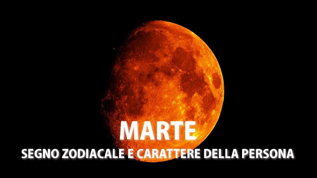Marte: il carattere della persona in base al segno zodiacale
